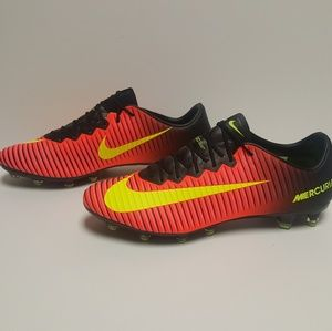 Mercurial Vapor XI AG-Pro Red Black Soccer Cleats